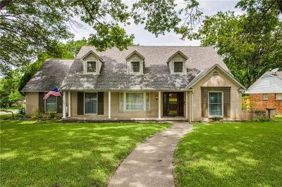 Richardson Single Family Home For Sale: 710 Palmer Place