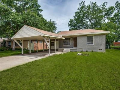 Dallas Single Family Home For Sale: 3735 Bolivar Drive