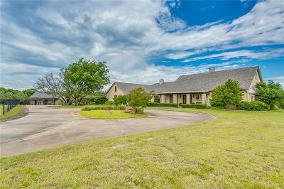 Weatherford Single Family Home For Sale: 443 Bluff Ridge Road