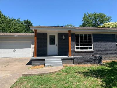Richland Hills Single Family Home Active Option Contract: 2836 Willow Park Street