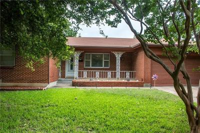 North Richland Hills Single Family Home Active Contingent: 3529 Sheridon Drive