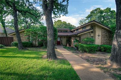 Azle Single Family Home Active Option Contract: 441 Lake Terrace Drive