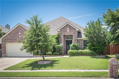 Wylie Single Family Home Active Option Contract: 2919 Preston Lane