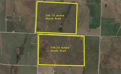 Grayson County Farm & Ranch For Sale: 0000 Shook Road