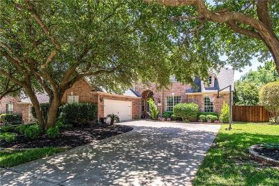 Flower Mound Single Family Home Active Contingent: 4313 Saddle Ridge Trail