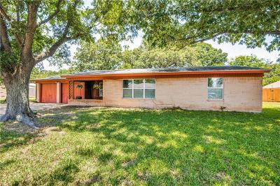 Irving Single Family Home Active Option Contract: 1603 W 5th Street