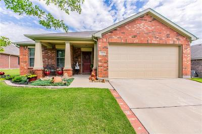 Waxahachie Single Family Home Active Option Contract: 222 Bison Meadow Drive