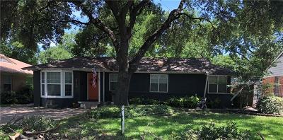 Single Family Home For Sale: 3719 Park Lane