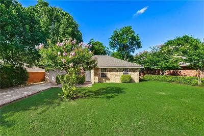 Dallas Single Family Home For Sale: 2321 Dorrington Drive