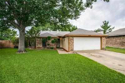 Sachse Single Family Home Active Option Contract: 2520 Herring Circle