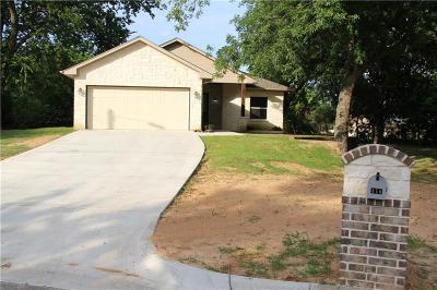 Springtown Single Family Home For Sale: 416 Huggins Drive
