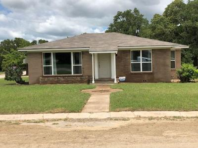 Archer County, Baylor County, Clay County, Jack County, Throckmorton County, Wichita County, Wise County Single Family Home For Sale: 210 Summit Street
