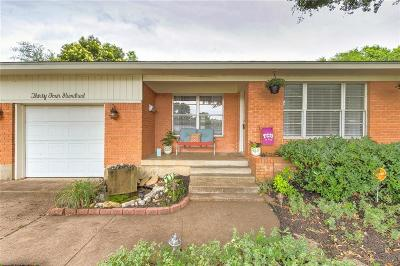 Fort Worth Single Family Home Active Option Contract: 3400 Cordone Street