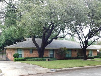 Fort Worth Single Family Home For Sale: 3724 Arborlawn Drive