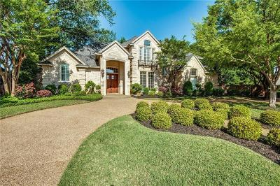 Colleyville Single Family Home For Sale: 5500 Maple Lane