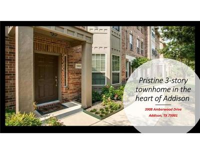 Addison Residential Lease For Lease: 3908 Amberwood Drive