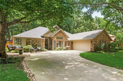 Denton County Single Family Home Active Option Contract: 2616 Surrey Woods Road
