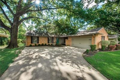 Richardson Single Family Home Active Option Contract: 608 Laguna Drive