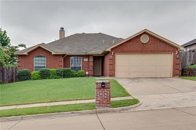 White Settlement Single Family Home Active Option Contract: 9313 Marie Court