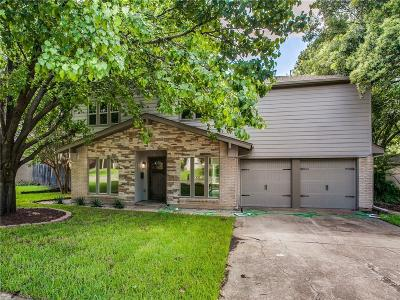 Farmers Branch Single Family Home For Sale: 12235 Treeview Lane
