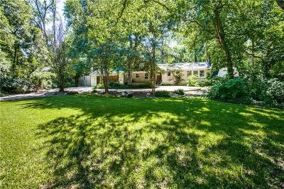 Dallas, Fort Worth Single Family Home For Sale: 1364 Highland Road