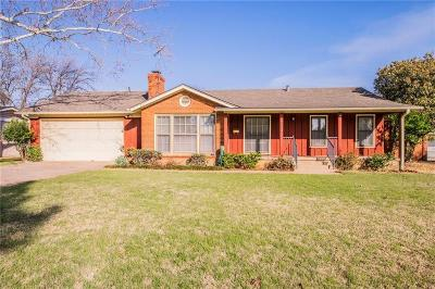 Fort Worth Single Family Home For Sale: 6712 Hanover Road
