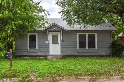 Stephenville Single Family Home For Sale: 722 W Frey Street