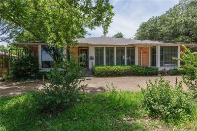Preston Hollow Single Family Home For Sale: 6538 Royal Lane