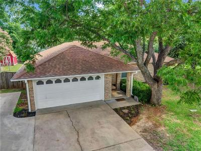 Azle Single Family Home Active Option Contract: 821 Lee Court
