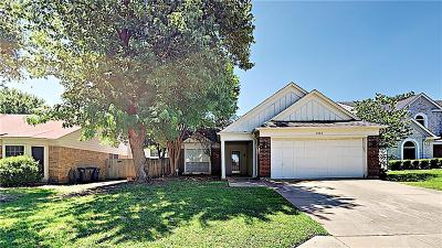 Fort Worth Single Family Home Active Option Contract: 2525 Country Creek Lane