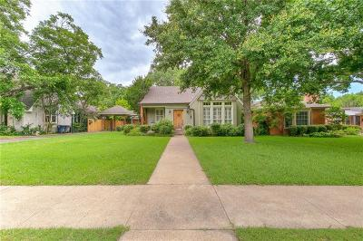 Fort Worth Single Family Home For Sale: 2546 Shirley Avenue