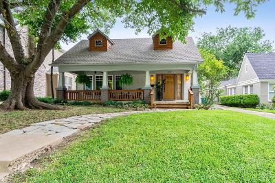 Fort Worth Single Family Home For Sale: 2221 Carleton Avenue