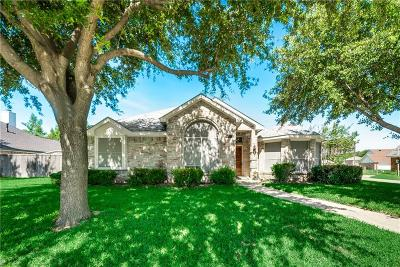 Sachse Single Family Home Active Option Contract: 4815 Peach Tree Lane