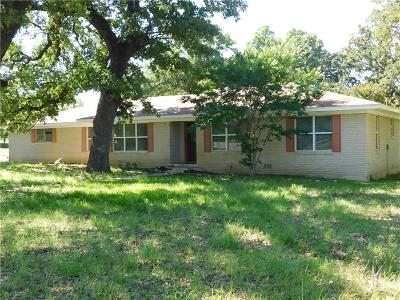 Archer County, Baylor County, Clay County, Jack County, Throckmorton County, Wichita County, Wise County Single Family Home For Sale: 604 W Sherman Street