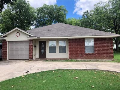 Garland Single Family Home For Sale: 412 N Garland Avenue