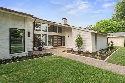 Richardson Single Family Home Active Option Contract: 603 E Spring Valley Road