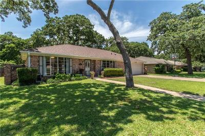 North Richland Hills Single Family Home Active Option Contract: 7205 Timberlane Drive