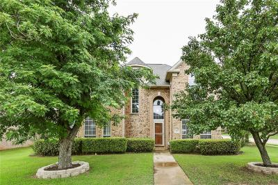Keller Single Family Home Active Option Contract: 400 Pin Oak Trail