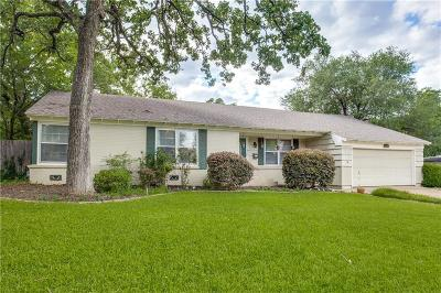 Fort Worth Single Family Home Active Option Contract: 2145 Green Hill Circle