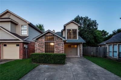 Garland Single Family Home Active Option Contract: 1720 Twin Court Place
