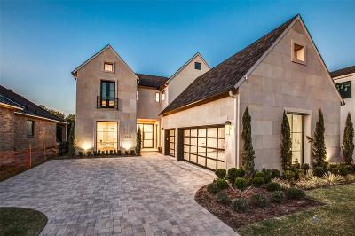 Dallas Single Family Home For Sale: 6243 Forest Lane