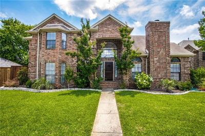 Allen Single Family Home Active Option Contract: 812 Cedar Crest Lane
