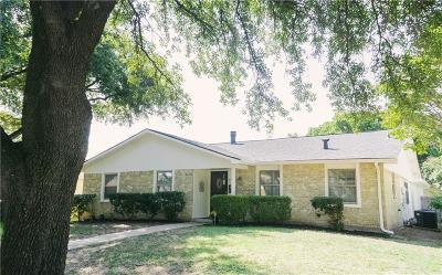 Garland Single Family Home Active Option Contract: 2718 Pinewood Drive
