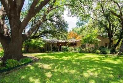 Dallas Single Family Home For Sale: 14120 Valley Creek Drive