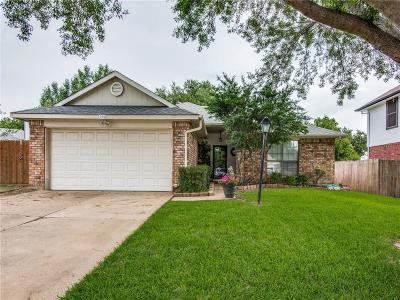 Flower Mound Single Family Home Active Option Contract: 1504 Whitney Lane