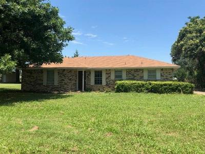 Waxahachie Single Family Home Active Option Contract: 427 Old Highway 287