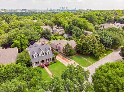 Fort Worth Single Family Home For Sale: 3624 Country Club Circle