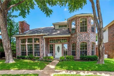 Plano Single Family Home Active Option Contract: 7816 Hardwick Court