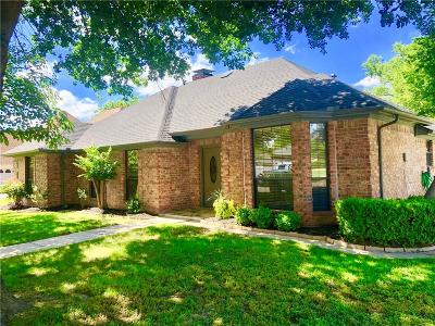North Richland Hills Single Family Home Active Option Contract: 8733 Woodstair Drive