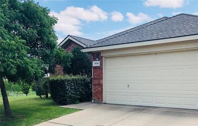 Fort Worth Single Family Home For Sale: 1516 Wind Dancer Trail
